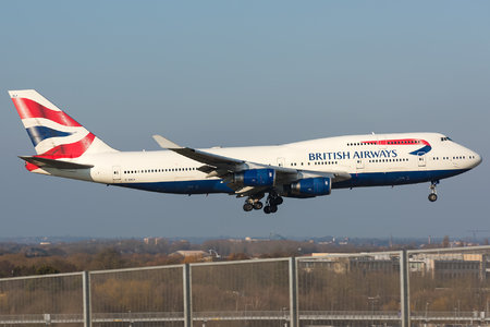 Boeing 747-400 - G-BNLY operated by British Airways