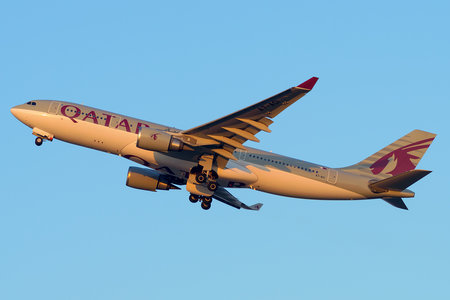 Airbus A330-202 - A7-ACI operated by Qatar Airways