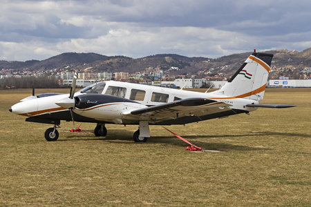 Piper PA-34-200T Seneca II - HA-YCM operated by Fly-Coop