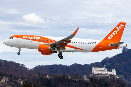 Airbus A320-214 - G-EZOM operated by easyJet