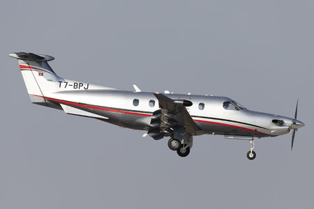 Pilatus PC-12/47E - T7-BPJ operated by Private operator