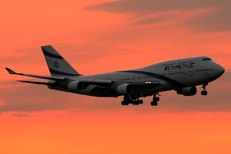 Boeing 747-400 - 4X-ELA operated by El Al Israel Airlines