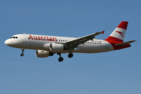 Airbus A320-214 - OE-LBU operated by Austrian Airlines