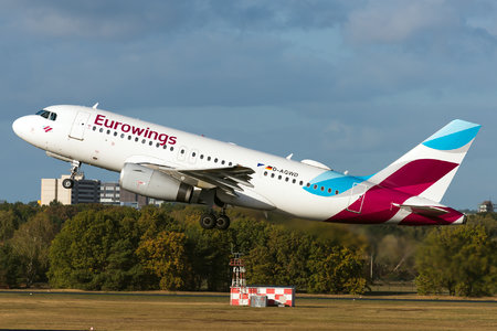 Airbus A319-132 - D-AGWD operated by Eurowings