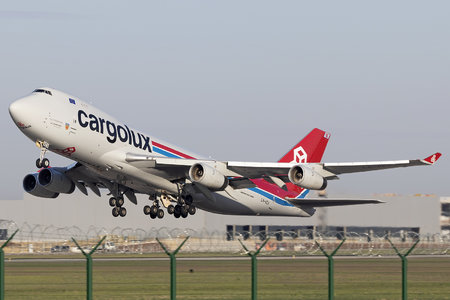 Boeing 747-400F - LX-VCV operated by Cargolux Airlines International