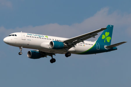 Airbus A320-214 - EI-DVL operated by Aer Lingus