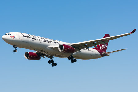 Airbus A330-343 - G-VINE operated by Virgin Atlantic Airways