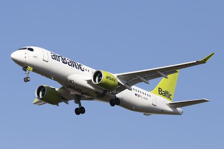 Airbus A220-300 - YL-AAO operated by Air Baltic