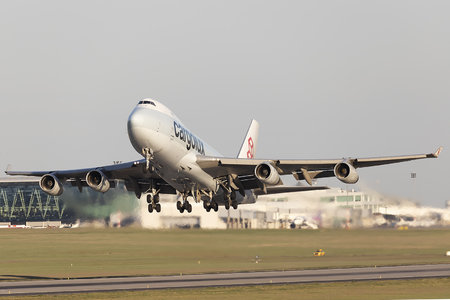 Boeing 747-400F - LX-ICL operated by Cargolux Airlines International