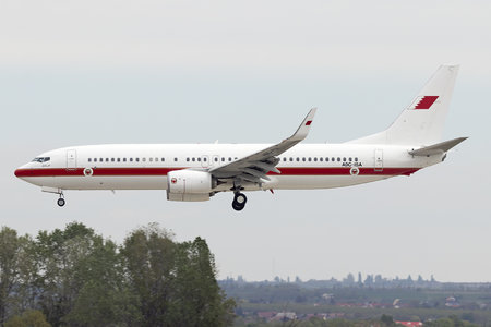 Boeing 737-800 - A9C-ISA operated by Bahrain - Royal Flight