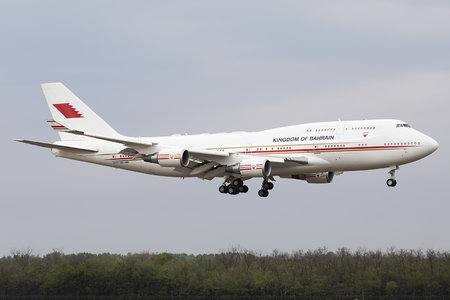 Boeing 747-400 - A9C-HMK operated by Bahrain - Royal Flight