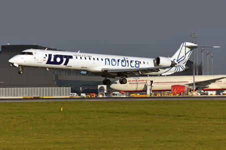 Bombardier CRJ900 - ES-ACJ operated by Nordica