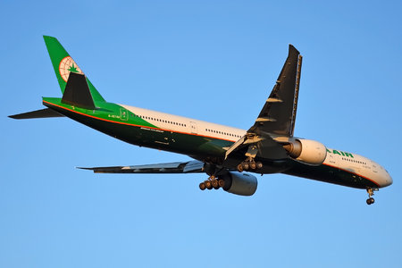 Boeing 777-300ER - B-16740 operated by EVA Air