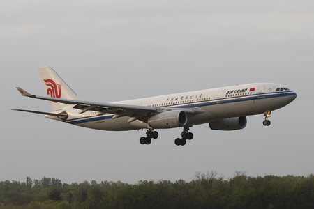 Airbus A330-243 - B-6117 operated by Air China