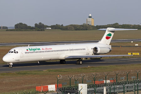 McDonnell Douglas MD-82 - LZ-LDP operated by Bulgarian Air Charter