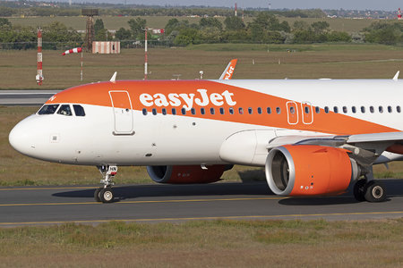 Airbus A320-251N - G-UZHN operated by easyJet