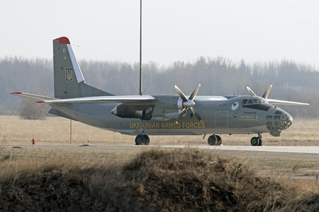 Antonov An-30 - 86 operated by Povitryani Syly Ukrayiny (Ukrainian Air Force)