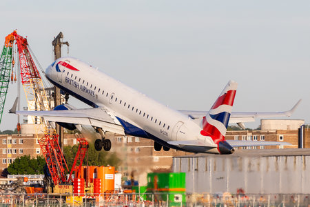 Embraer 190-100SR - G-LCYJ operated by BA CityFlyer