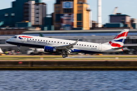Embraer 190-100SR - G-LCYR operated by BA CityFlyer