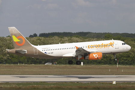 Airbus A320-232 - SX-SOF operated by Corendon Airlines
