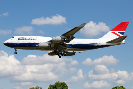 Boeing 747-400 - G-CIVB operated by British Airways