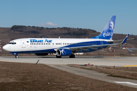Boeing 737-800 - YR-BMP operated by Blue Air