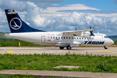 ATR 42-500 - YR-ATE operated by Tarom