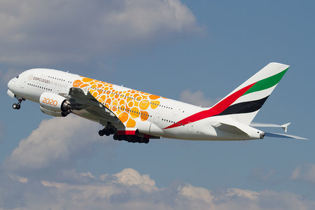 Airbus A380-861 - A6-EOU operated by Emirates