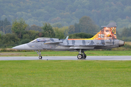 Saab JAS 39C Gripen - 9241 operated by Vzdušné síly AČR (Czech Air Force)