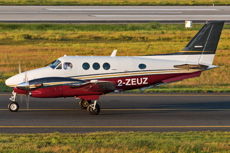 Beechcraft C90A King Air - 2-ZEUZ operated by Zeusch Aviation