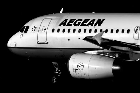 Airbus A320-232 - SX-DGD operated by Aegean Airlines