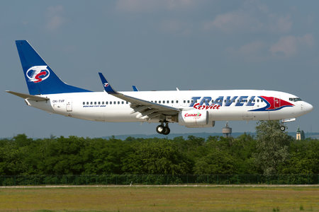 Boeing 737-800 - OK-TVF operated by Travel Service