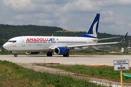 Boeing 737-800 - TC-JFT operated by AnadoluJet