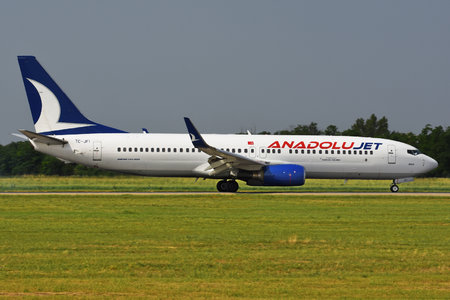 Boeing 737-800 - TC-JFI operated by AnadoluJet