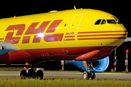 Airbus A330-243F - D-ALMD operated by DHL (European Air Transport)