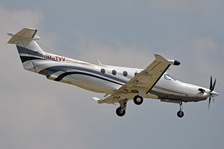 Pilatus PC-12/47E - OM-TVV operated by Tatra Jet