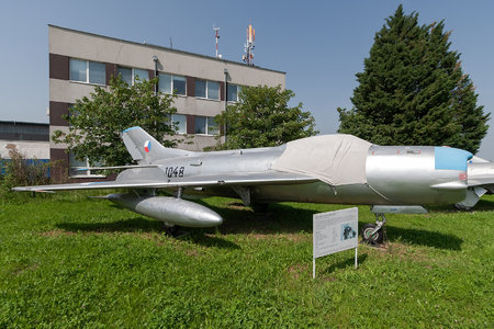 Mikoyan-Gurevich MiG-19PM - 1048 operated by Letectvo ČSĽA (Czechoslovak Air Force)
