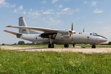 Antonov An-26 - 406 operated by Magyar Légierő (Hungarian Air Force)