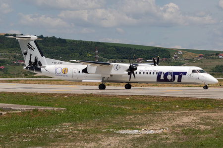 Bombardier DHC-8-Q402 Dash 8 - SP-EQK operated by EuroLOT