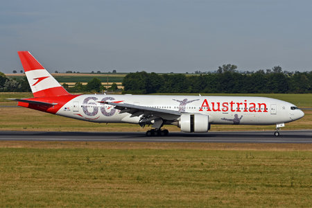 Boeing 777-200ER - OE-LPF operated by Austrian Airlines