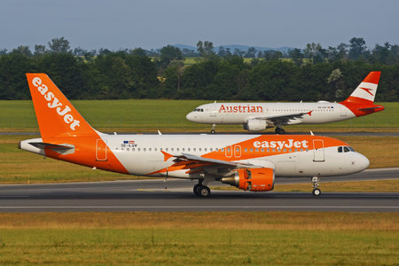 Airbus A319-111 - OE-LQV operated by easyJet Europe