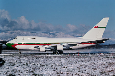 Boeing 747SP - A40-SP operated by Royal Flight of Oman
