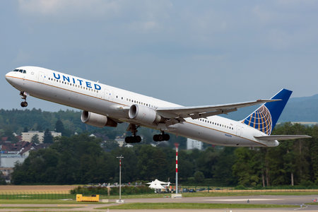 Boeing 767-400ER - N66056 operated by United Airlines