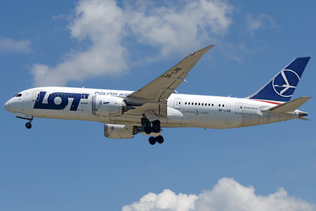 Boeing 787-8 Dreamliner - SP-LRB operated by LOT Polish Airlines