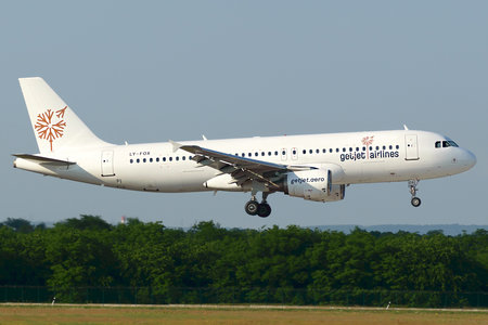 Airbus A320-214 - LY-FOX operated by GETJET Airlines