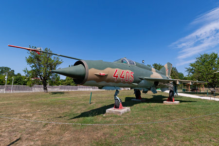 Mikoyan-Gurevich MiG-21MF - 4405 operated by Magyar Légierő (Hungarian Air Force)