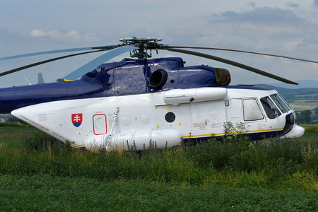 Mil Mi-171 - OM-BYH operated by Letecký útvar MV SR (Slovak Government Flying Service)