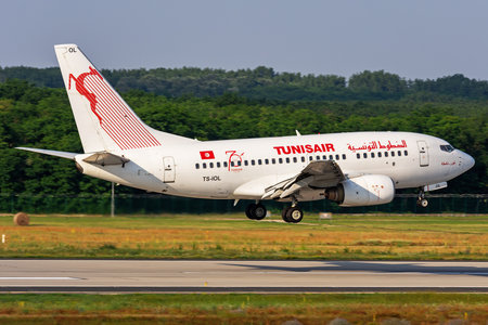 Boeing 737-600 - TS-IOL operated by Tunisair