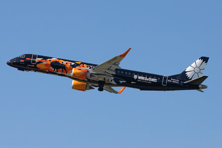 Embraer E195LR (ERJ-190-200LR) - EW-400PO operated by Belavia Belarusian Airlines