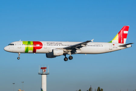 Airbus A321-211 - CS-TJE operated by TAP Portugal
